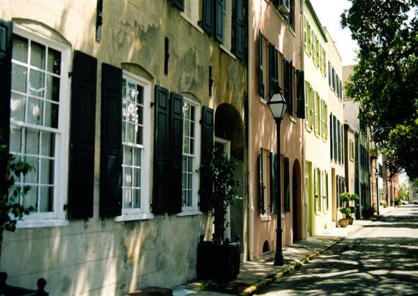 Historic charleston sc for Charleston row houses